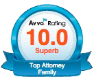 Avvo Top Attorney since 2016