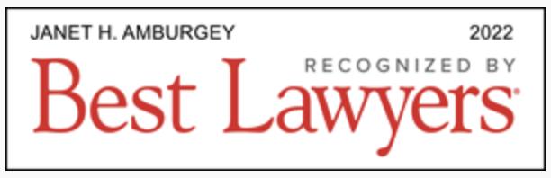 Janet Amburgey 2022 Best Lawyers in America Badge