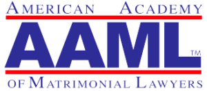 This is an image of the logo for the American Academy of Matrimonial Lawyers, given to Fellows to apply to their websites