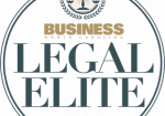This is a graphic image of the logo for Business North Carolina Legal Elite. Patrick McCroskey was elected to the 2019 Legal Elite Family Law Section.