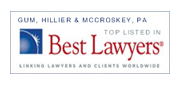 Vector Graphic of Gum Hillier and McCroskey's Best Lawyers in America badge