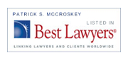 Listed in Best Lawyers in America
