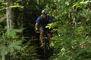 Patrick McCroskey Mountain Biking