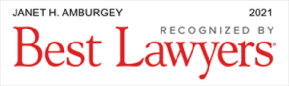 Janet Amburgey 2021 Best Lawyers in America Badge