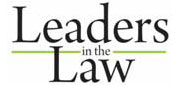 2011 Leaders in the Law Award Winner